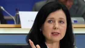 Jourová europoslancům řekla, že hodlá rázně hájit právní stát (7. 10. 2019)