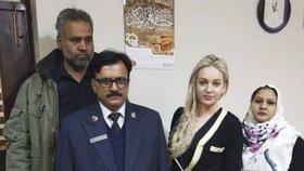 V lednu roku 2018 v Pákistánu zadrželi Češku Terezu Hlůškovou. Pašovala 9 kilo heroinu.