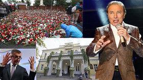 Premiér Andreje Babiš odmítá, že by na smrti Karla Gotta sbíral politické body. Na posledním rozloučení se zesnulým zpěvákem očekává přes 300 tisíc jeho obdivovatelů