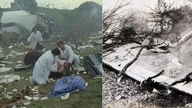 Letecká havárie poblíž pražského Suchdola si v roce 1975 vyžádala více než 70 mrtvých