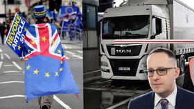 """Brexit bez dohody je nepravděpodobný, český expert zmínil """"velké komplikace"""""""