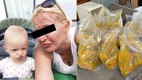 Den před zatčením pašeračky Lucie zadrželi Brazilci 106 kilo kokainu do Česka!