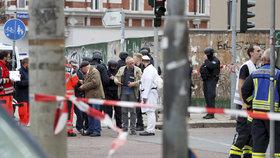 Po střelbě v německém Halle zůstali dva mrtví.