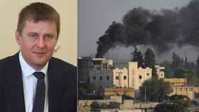 Ministr zahraničí Tomáš Petříček (ČSSD) vyzval tureckého velvyslance ke konci bojů v Sýrii.