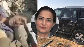 Turky podporovaní povstalci brutálně zabili kurdskou političku Hevrin Chalafovou (†35).