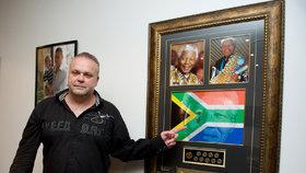 Uprchlý podnikatel Radovan Krejčíř v Jihoafrické republice