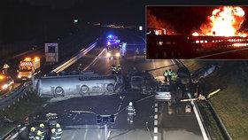 Děsivá hromadná nehoda na D1 mohla mít ještě horší následky.