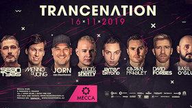Na Trancenation 2019 vystoupí světoví trance DJové.