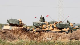 Turecká ofenziva v severovýchodní Sýrii (15. 10. 2019)