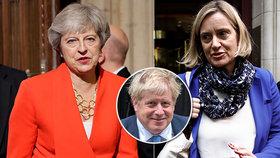 Brexitový plán expremiérky Theresy Mayové selhal podle Ruddové proto, že je žena. Exministryně tvrdí, že premiér Johnson dosáhne schválení podobného plánu bez problémů