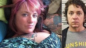 Amy Parrinová sexuálně napadla svého přítele.