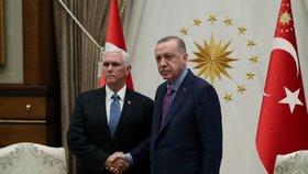 USA a Turecko se dohodly na příměří v Sýrii, oznámil viceprezident Pence. (17. 10. 2019)