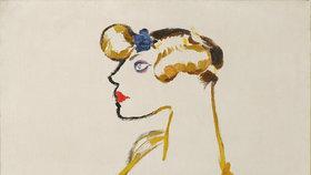 Io, Kráva. Tak zní název obrazu, který František Kupka maloval v roce 1910.