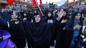 Lidé v Iráku protestují proti současné vládě (19. 10. 2019)