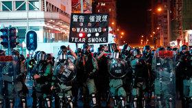 V Hongkongu opět probíhají protesty (20. 10. 2019)
