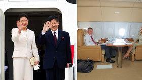 Andrej a Monika Babišovi se vydali do Japonska: Na uvedení na trůn císaře Naruhita (vlevo s císařovnou Masako)