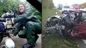 Smrtelná nehoda Martina (†29). Milovníka motorek všichni oplakávají.
