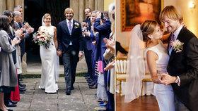 Ministr zdravotnictví Adam Vojtěch (za ANO) se oženil s dlouholetou partnerkou Olgou (19.10.2019)