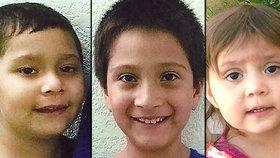 Pohřešované děti se podařilo najít dva roky po únosu.