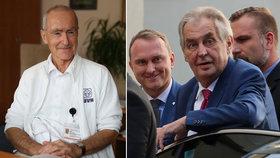 Náměstek Ústřední vojenské nemocnice Ivan Jeřábek řekl víc o rekondičním pobytu prezidenta Miloše Zemana (21. 10. 2019)