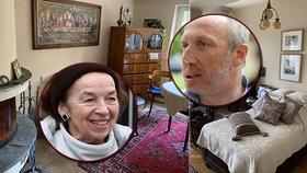 """""""Šmejděníčko"""" u důchodkyně Klausové. Junior ukázal naklizenou ložnici bývalé první dámy"""