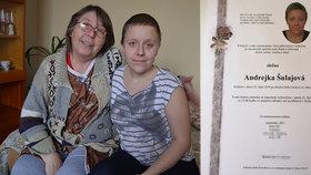 """""""Haj*li"""" nad Andrejkou (†23) zvítězili: Rakovinu kostí neporazila, v posteli ji mrtvou našla babička"""