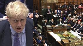 Britská vláda v případě porážky stáhne zákon o brexitové dohodě.