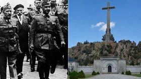 Španělé po letech přesunou ostatky diktátora Franka. Dosud byl pochován vedle svých obětí.