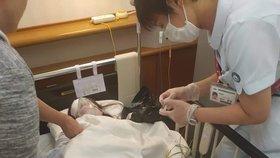 Ivanka po náročné operaci