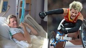 Paralympijská vítězka Vervoortová (†40) podstoupila eutanazii