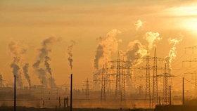Kouř z továrny (ilustrační foto)