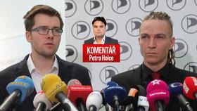 Petr Holec komentuje vývoj kolem pirátské strany a pokusy o odvolání Jakuba Michálka.