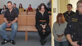 Vražedkyni Janákovou předvedla eskorta před soud