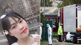 Poslední slova oběti z kamionu s 39 mrtvými?! Dusím se, umírám! psala mámě dívka (26).