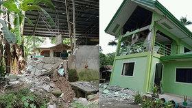 Zemětřesení na Filipínách (29.10.2019)