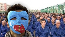 Čínský tábor pro Ujgury