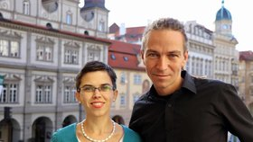 Ivan Bartoš a Olga Richterová (Piráti)