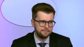 Pirát Jakub Michálek v Otázkách Václava Moravce (3.11.2019)