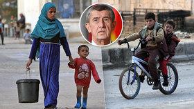 Premiér Andrej Babiš (ANO) věřil ve výstavbu dětského centra pro sirotky v Sýrii. Plán neuspěl.