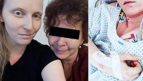 Lucie Eckertová podlehla rakovině. Její maminka bojuje s roztroušenou sklerózou