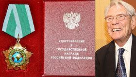 Medaile pro Vadima Petrova