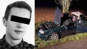 Karel (†22) zahynul při autonehodě, kterou způsobil jeho opilý kamarád.