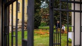 Na zámku Matěje Stropnického se konala svatba.