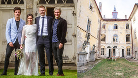 Na zámku Stropnického se oddávalo.