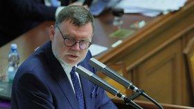 Hlasování o daňovém balíčku: Zbyněk Stanjura (ODS; 6. 11. 2019)