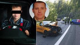 Řidič mustangu, který zabil generála Jakubů, je trestně stíhán: Za nehodu mohla jeho rychlost.