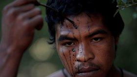 Paulo Paulino Guajajara, ochránce Amazonie, je po smrti. Zabili ho ilegální těžaři dřeva.