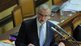Schůze Sněmovny: Miroslav Kalousek (TOP 09)