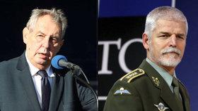 Podle prezidenta Miloše Zemana by generál Petr Pavel měl zůstat u vojenství.