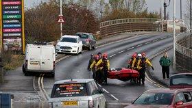Sever Anglie sužují po přívalových deštích záplavy.